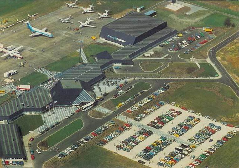 Archiefbeeld van de luchthaven Eindhoven.