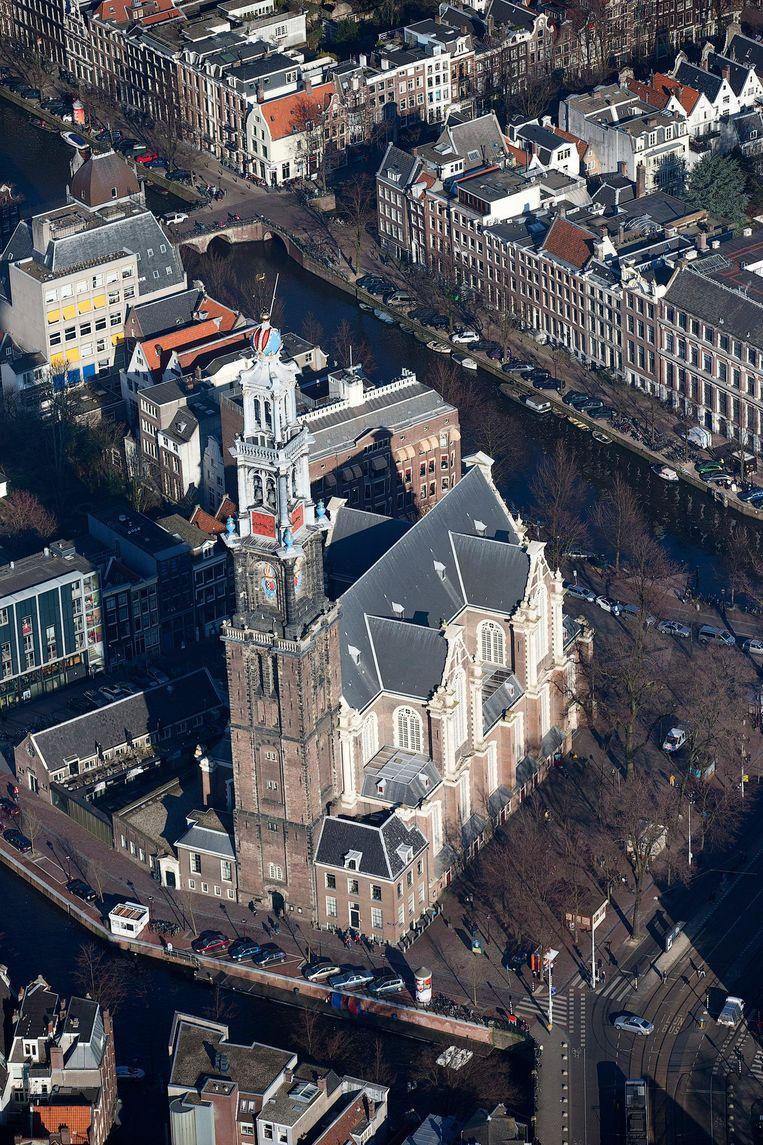De Westerkerk is 359.869 euro toegekend. Beeld anp