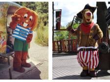 Ook mascottes Bultje en Baba krijgen vanwege hitte (een beetje) rust