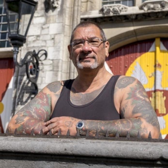 Tattookoning Rinus Souisa haalde heel wat streken uit in zijn geboortestad.