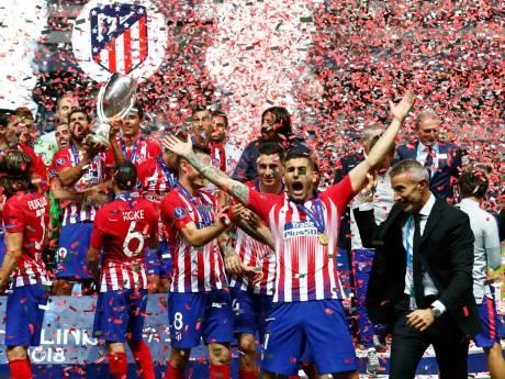 Atlético verslaat Real na verlenging en pakt eerste prijs