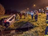 Zware crash op de A58 bij Tilburg, slachtoffer in eerste instantie spoorloos