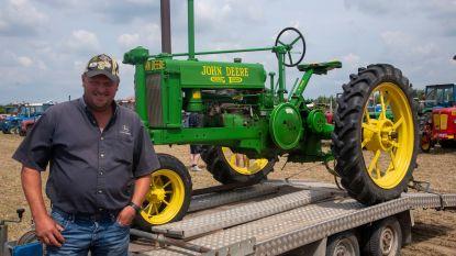 130 oldtimer tractoren op feestje 100 jaar Landelijke Gilden