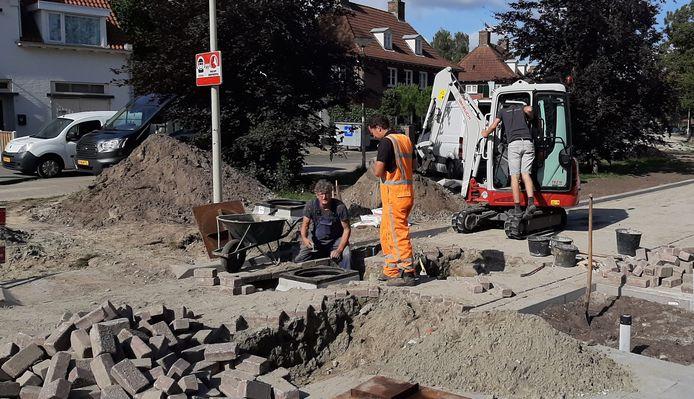 Wegwerkzaamheden leiden tot klachten bij de gemeente Roosendaal, zoals hoer bij de reconstructie van de Parklaan.