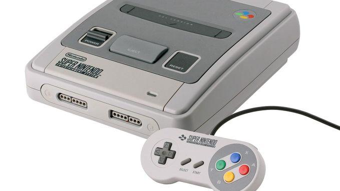 Ook de Super Nintendo komt terug