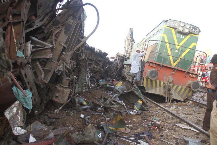 Bij het ongeval kwamen meer dan elf mensen om het leven (archiefbeeld).