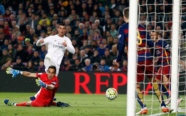 De wederopstanding van Real kwam er in Camp Nou