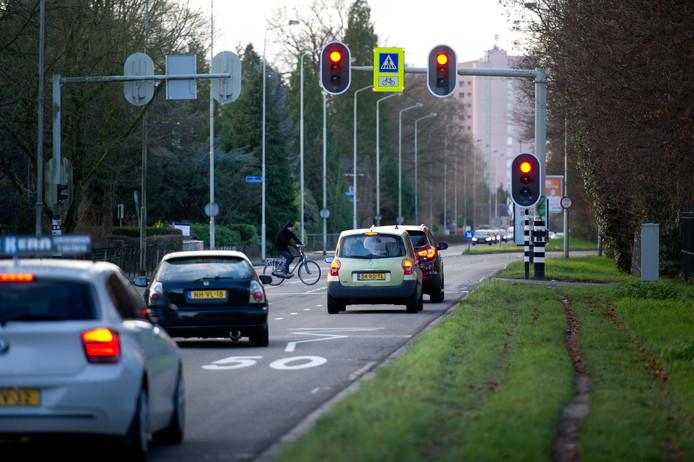 De Graafseweg moet niet over de hele lengte versmald worden, vindt de Stadspartij.