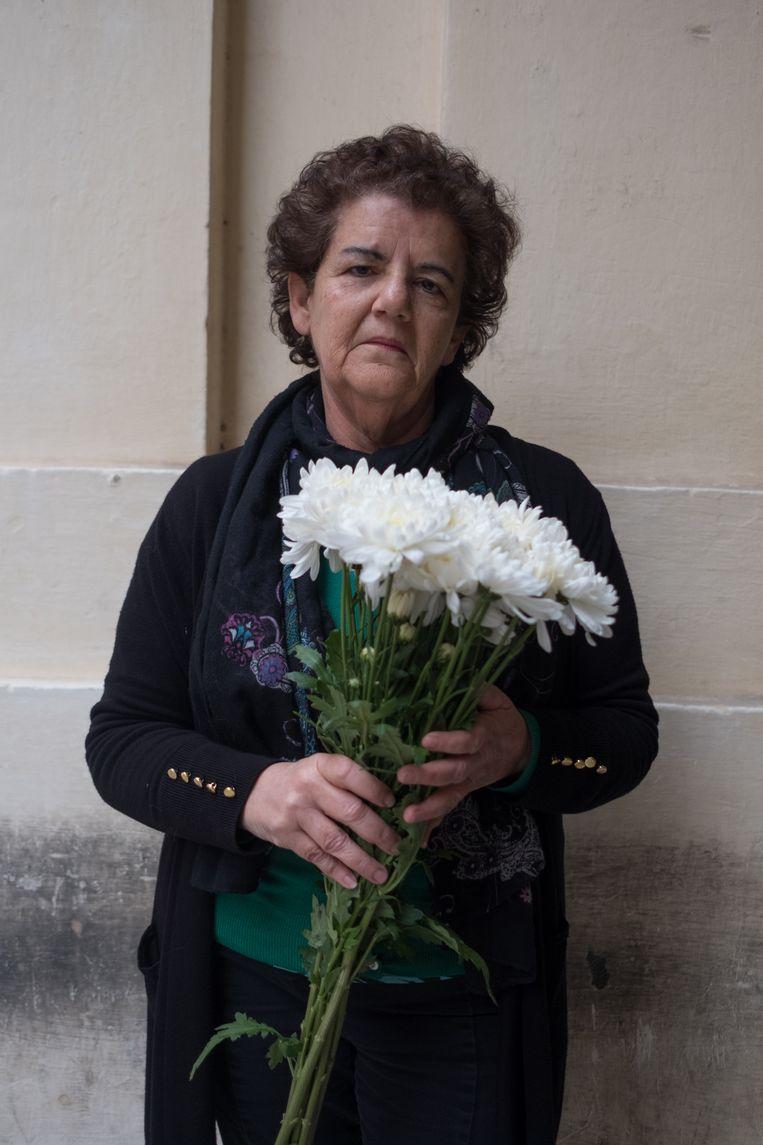 Activiste Ann Demarco. Beeld Joanna Demarco