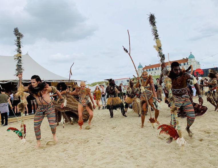 Het thema van WECANDANCE was Safari Nomads.
