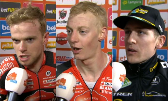 Iserbyt, Vanthourenhout en Aerts.