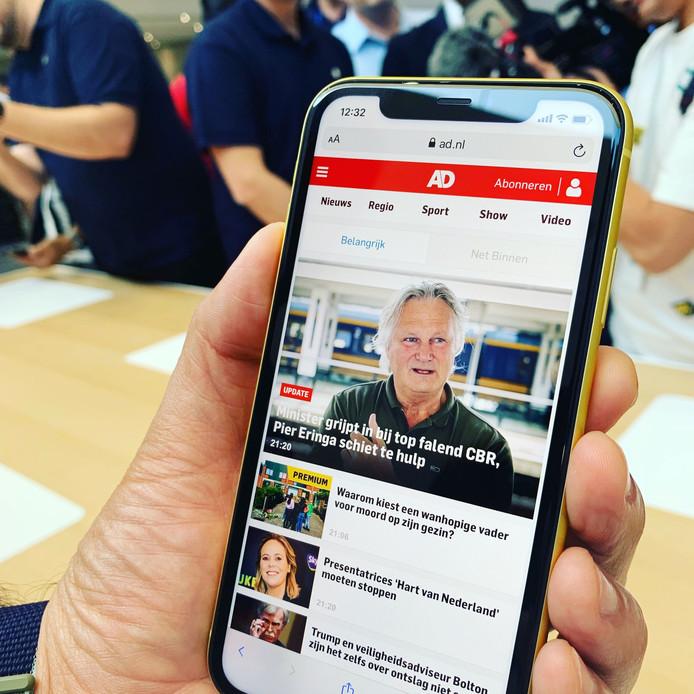 De nieuwe iPhone.