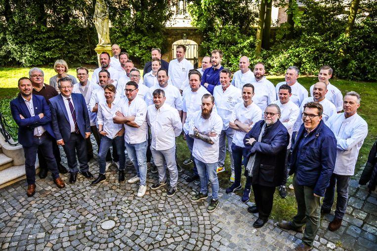 Brugge deelnemers kookeet