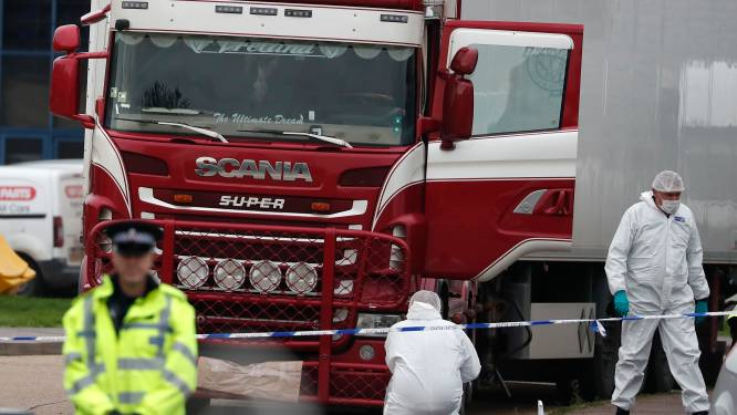 Zware celstraffen voor mensensmokkel met 39 doden in koelvrachtwagen Engeland