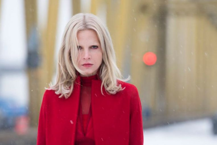 Camilla Salander (Sylvia Hoeks) in Columbia Picture's The Girl in the Spider's Web. Beeld null