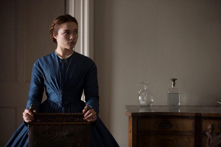 De 19-jarige Florence Pugh speelt in 'Lady Macbeth' de medogenloze wreekster die de Engelse klassenstrijd zo'n beetje in haar eentje uitvecht. Beeld Trouw