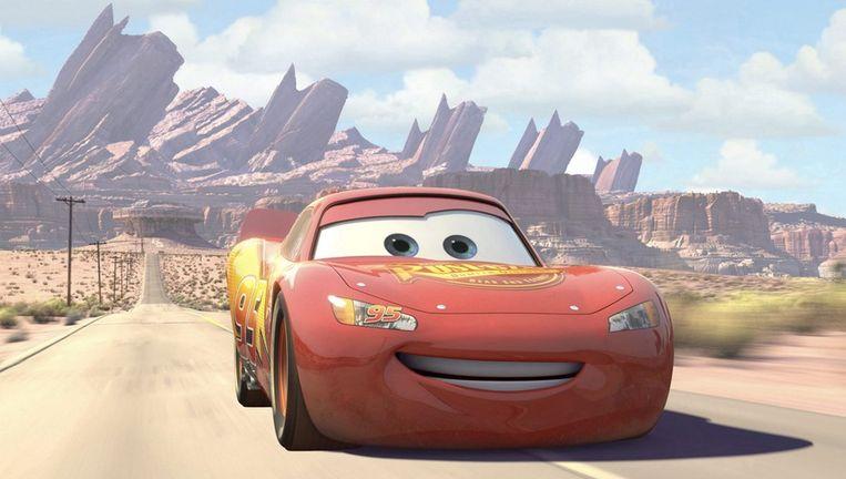 Mater, de sleepwagen uit de film Cars, draagt ook nummer A113. Beeld epa