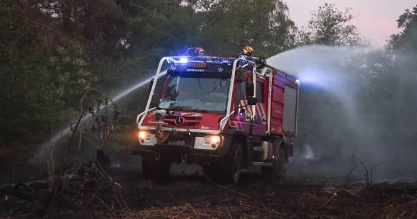 """Wéér was er een bosbrand en dat baart deze specialist zorgen: ,,Het kan een keer misgaan"""" ."""