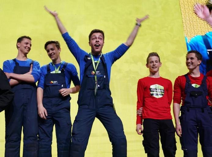 Blijdschap bij de winnaars uit Flevoland.