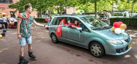 Door de carwash voor je diploma bij de Rooi Pannen in Tilburg