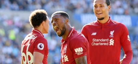 Wijnaldum en Milner bezorgen Liverpool de zege in Cardiff