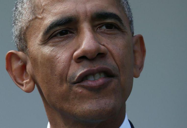 President Barack Obama. Beeld getty