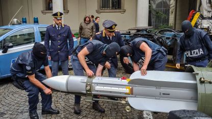 Gevonden luchtraket bij Italiaanse rechts-extremisten is afkomstig van Qatar