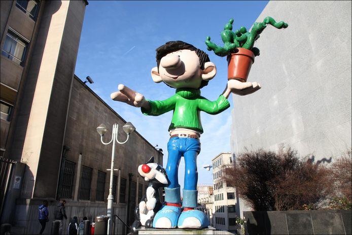 Bruxelles a déjà sa statue Gaston Lagaffe.