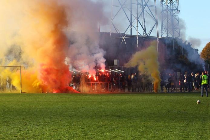 Laatste training van Go Ahead voor de IJsselderby
