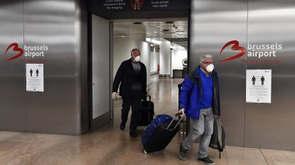 Mondmaskers toch verplicht op Brussels Airport: luchthaven start met bedeling op 18 mei