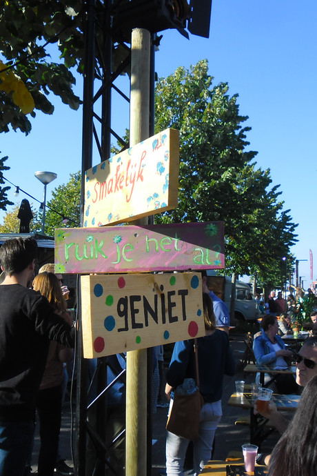 Zonovergoten Hippe Happen Festival trekt duizenden bezoekers