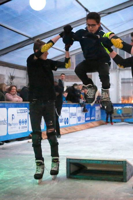 Schaatsen onder en gaan! Gorcums Winterfestijn geopend