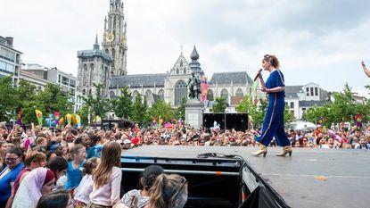 Vlaamse Feestdag op Groenplaats en Grote Markt