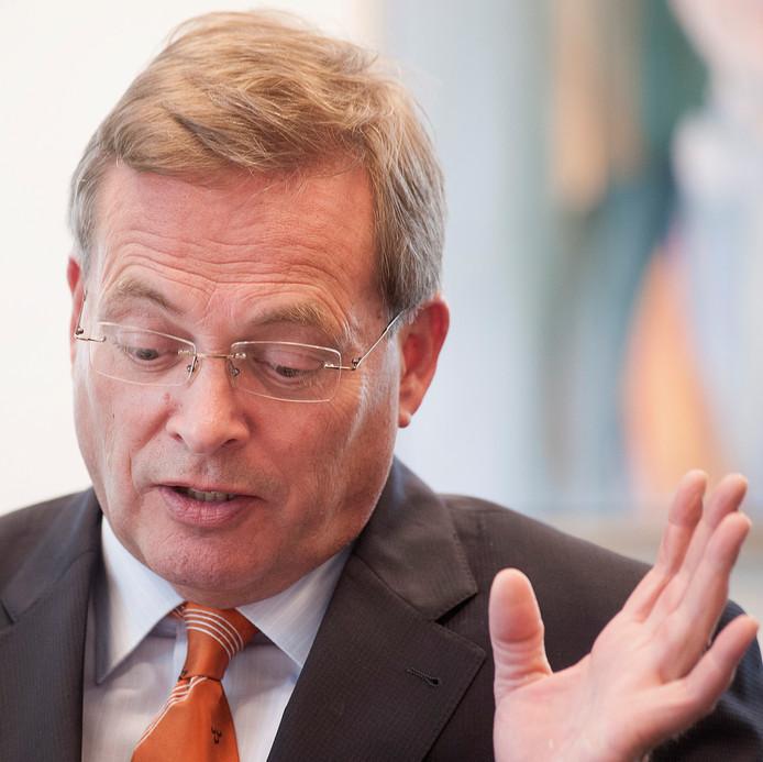 Oud-burgemeester Stefan Huisman.