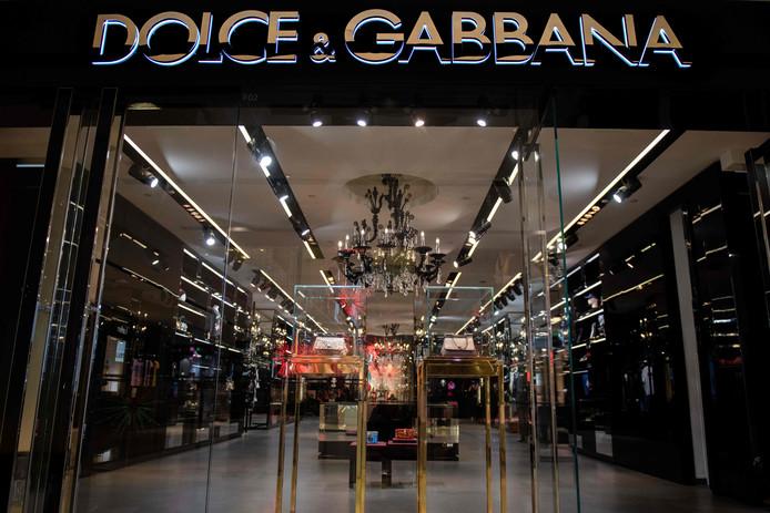 Dolce & Gabbana boeken jaarlijks een omzet van ruim 100 miljard in China.