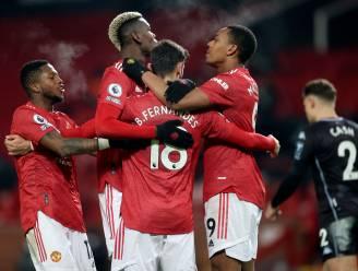 Daar is Man United weer: Red Devils samen met Liverpool op kop na zege tegen Aston Villa