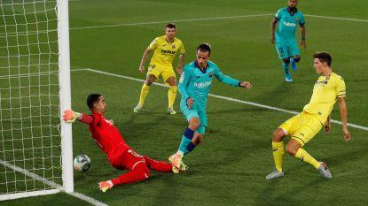 LIVE. Gerard schiet Villarreal al langszij na zwak verdedigen bij Barcelona!
