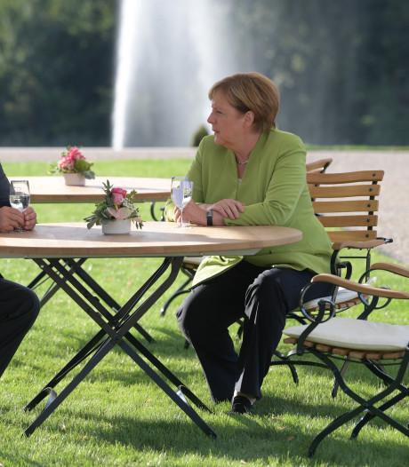 Merkel: 'Bereid samen te werken met Rusland tegen internationale crisis'