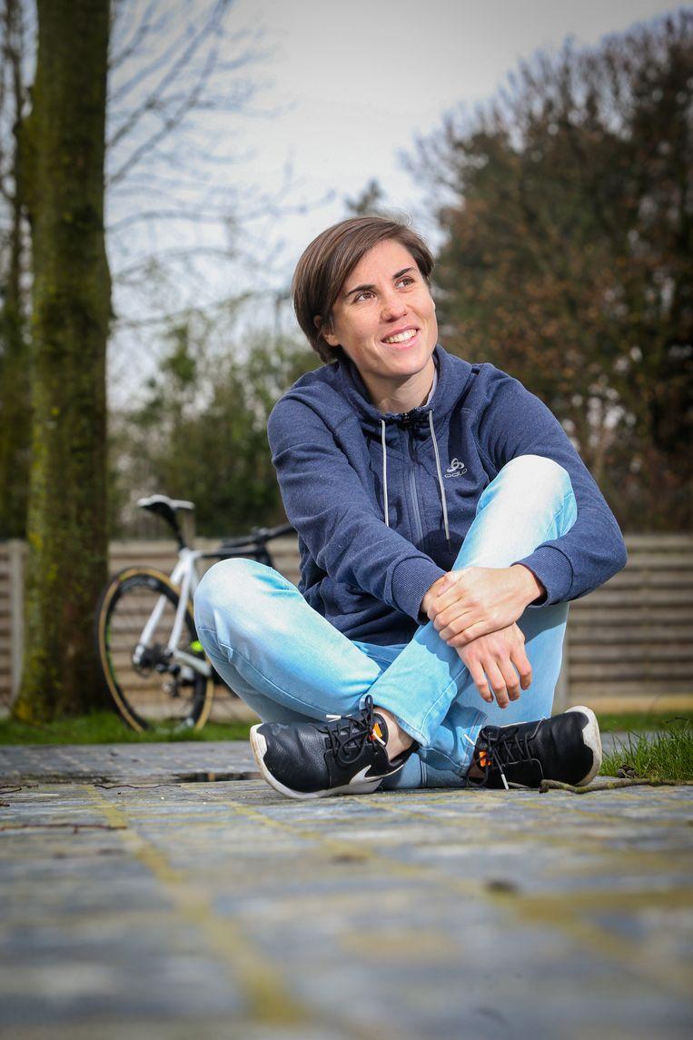 Ontlading, afgelopen weekend in Denemarken, toen Sanne Cant voor de derde keer op rij wereldkampioene veldrijden werd.