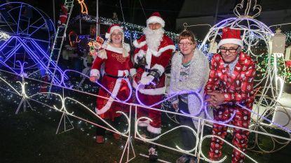 Kersthuisje van Jempi en Marleen telt al 80.000 kerstlichtjes