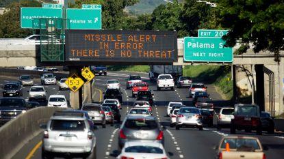 """Medewerker verstuurde raketalarm Hawaï na communicatiefout: """"Dit is geen oefening"""""""