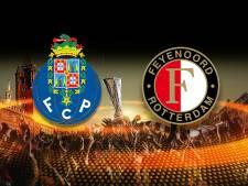 Feyenoord hoopt op een wonder in Porto