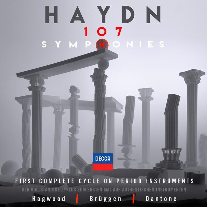 The Academy of Ancient Music, Orkest van de XVIIIe Eeuw, Accademia Bizantina - 107 Symphonies.