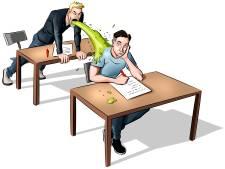 Stress, kots en horror tijdens examens