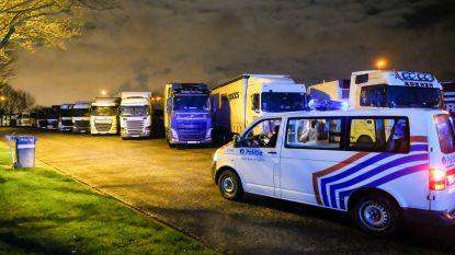 Dertien transmigranten opgepakt in Groot-Bijgaarden