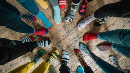 Vandaag is Wereld Downsyndroomdag: draag 2 verschillende sokken want anders zijn is oké