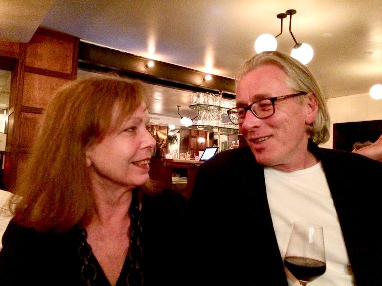 Dick Dankers met echtgenote Marianne van Dodewaard. Beeld Dana Ploeger