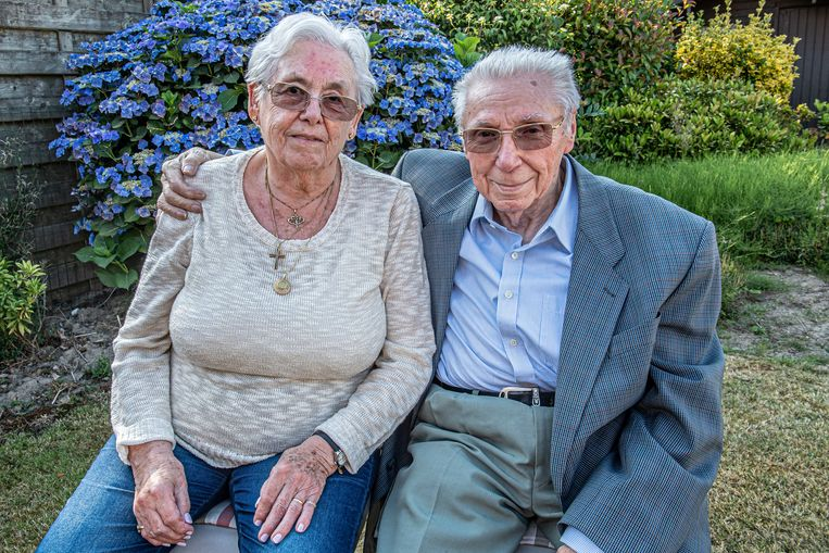 Maurits en Cordula vieren hun 65-jarig jubileum.