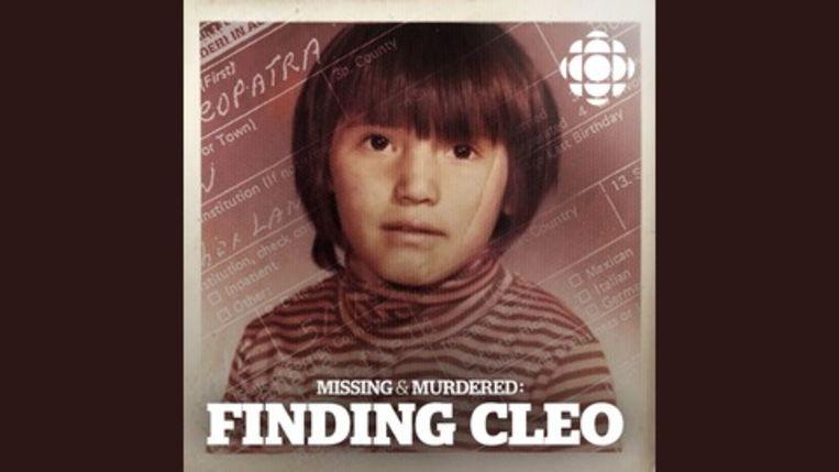 Dit is de enige foto van Cleo die zus Christine heeft. Beeld CBC
