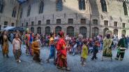 Volle binnenkoer voor Iepers Wereldfeest